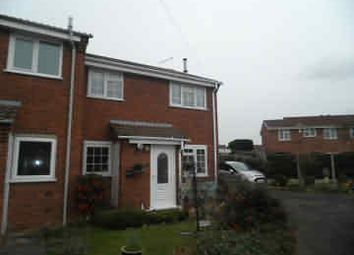 Thumbnail 1 bed terraced house to rent in Oak Farm Close, Sutton Coldfield