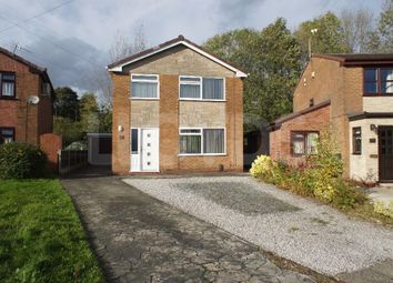 Thumbnail 3 bed detached house to rent in Poulton Crescent, Woolston, Warrington