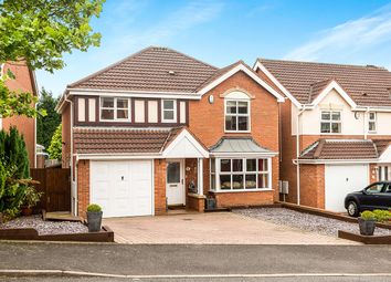 Thumbnail 4 bedroom detached house for sale in Winrush Close, Lower Gornal, Dudley