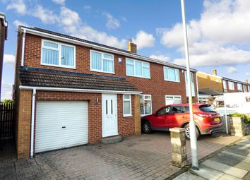 Thumbnail 4 bedroom semi-detached house for sale in Bassleton Lane, Thornaby, Stockton-On-Tees