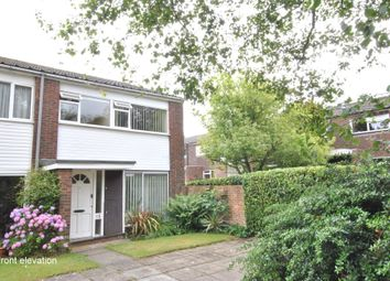 Thumbnail 3 bed end terrace house to rent in Cranston Close, Reigate, Surrey