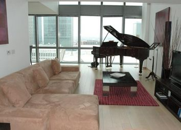 Thumbnail 3 bedroom flat to rent in Hertsmere Road, Canary Wharf, London