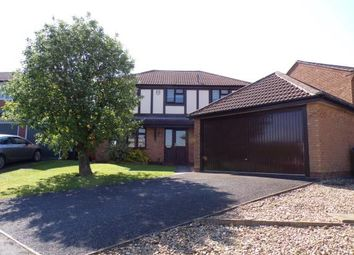 Thumbnail 4 bed detached house for sale in Pine Close, Lutterworth, Leicestershire, England