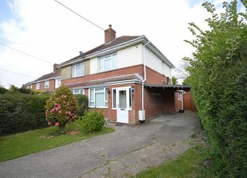 Thumbnail 2 bedroom semi-detached house for sale in Winchester Road, New Milton