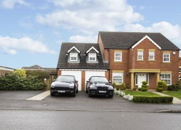 Thumbnail 4 bed detached house for sale in Ffordd Camlas, Rogerstone, Newport
