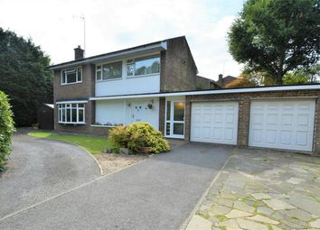 Thumbnail 4 bed detached house for sale in Goldney Road, Camberley, Surrey