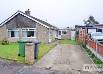 Thumbnail 3 bed bungalow for sale in Hawthorn Crescent, Bradwell, Great Yarmouth