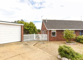 Thumbnail 3 bed semi-detached bungalow for sale in Hampton Close, Caister-On-Sea, Great Yarmouth