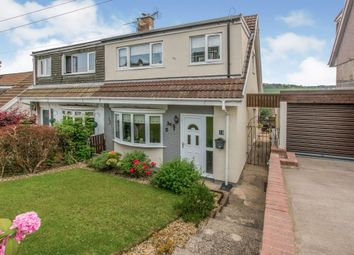 Thumbnail 3 bed semi-detached house for sale in Conway Close, Glyncoch, Pontypridd