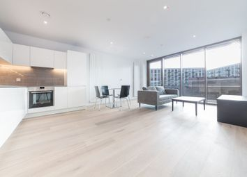 Thumbnail 2 bed flat to rent in Commodore House, 8 Admiralty Avenue, Royal Wharf, London