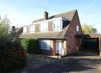Thumbnail 3 bed semi-detached house for sale in Windermere Crescent, Allestree, Derby