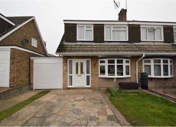 Thumbnail 3 bed semi-detached house for sale in Iris Close, Brentwood