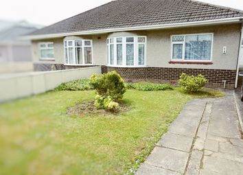 Thumbnail 2 bed semi-detached bungalow to rent in Taylor Road, Bridgend, Mid Glamorgan