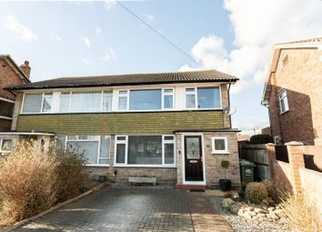 Thumbnail 3 bed semi-detached house for sale in Chester Close, Ashford