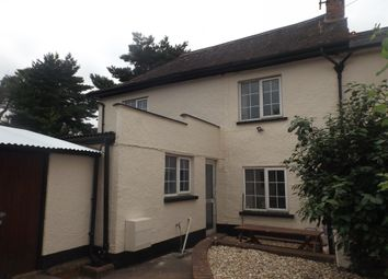 Thumbnail 2 bedroom semi-detached house for sale in Station Road, Cullompton