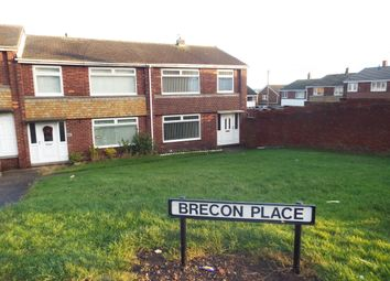 Thumbnail 3 bed end terrace house to rent in Brecon Place, Pelton, Chester Le Street