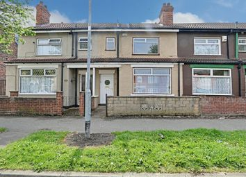 Thumbnail 3 bedroom terraced house for sale in Newcomen Street, Hull