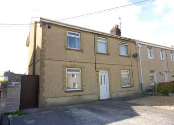 Thumbnail 3 bed semi-detached house for sale in Mill Road, Pyle, Bridgend