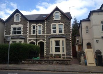 Thumbnail 1 bedroom property to rent in Partridge Road, Roath, Cardiff