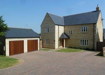 Thumbnail 4 bed detached house for sale in Wothorpe Park, First Drift, Wothorpe, Stamford