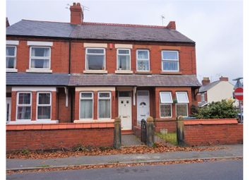 Thumbnail 2 bed end terrace house for sale in Bersham Road, Wrexham