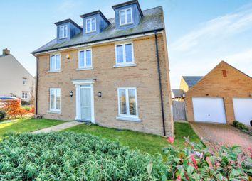 Thumbnail 5 bedroom detached house for sale in Trafalgar Drive, Brooklands, Milton Keynes