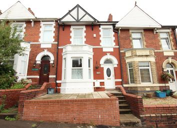 Thumbnail 3 bed terraced house for sale in Coldra Road, Newport