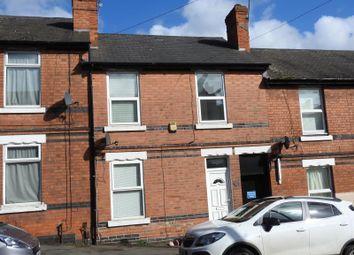 Thumbnail 3 bedroom terraced house for sale in Cromer Road, St Anns, Nottingham