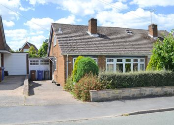 Thumbnail 3 bed semi-detached bungalow for sale in Westmead Road, Barton Under Needwood, Burton-On-Trent