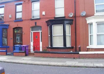Thumbnail 3 bedroom terraced house for sale in Alderson Road, Wavertree, Liverpool