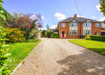 Thumbnail 3 bed semi-detached house for sale in School Road, Copford, Colchester