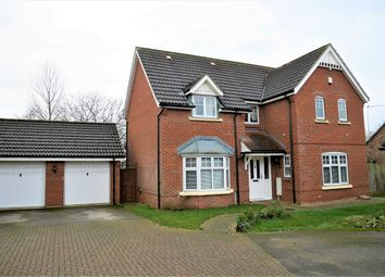 Thumbnail 5 bed detached house for sale in Masefield Drive, Downham Market