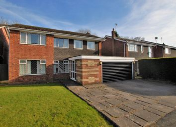 Thumbnail 4 bed detached house for sale in St Marys Close, Checkley, Stoke-On-Trent