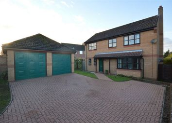 Thumbnail 4 bed detached house for sale in Norwich Road, Attleborough, Norfolk, Norfolk