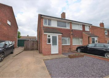 Thumbnail 3 bed semi-detached house for sale in Salvin Close, Cropwell Bishop, Nottingham