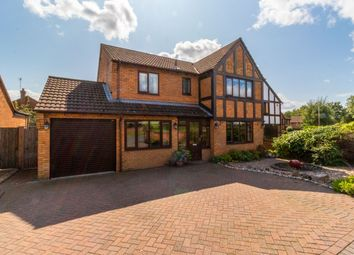 Thumbnail 4 bed detached house for sale in Sandhills Crescent, Solihull