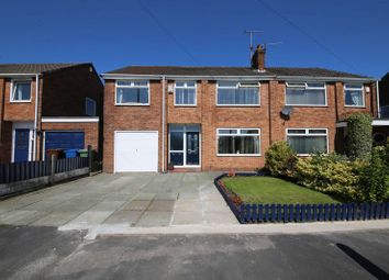 Thumbnail 5 bed semi-detached house for sale in Stewart Road, Hawkley Hall, Wigan
