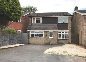 Thumbnail 3 bedroom detached house for sale in Romans Crescent, Coalville