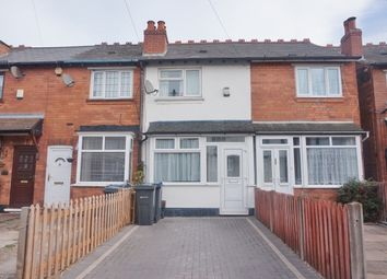 Thumbnail 2 bed terraced house for sale in Coles Lane, Sutton Coldfield