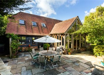 Thumbnail 4 bed detached house for sale in Hever Lane, Hever, Edenbridge, Kent