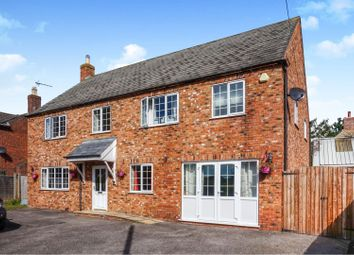 Thumbnail 4 bed detached house for sale in Station Road, Billingborough