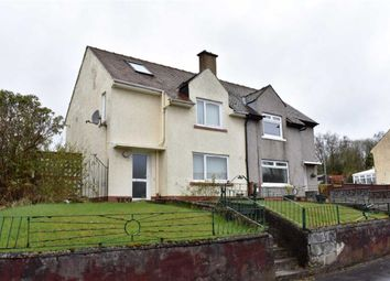 Thumbnail 2 bed semi-detached house for sale in 17, Fife Road, Greenock, Renfrewshire