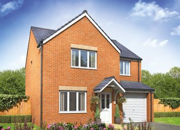 "Thumbnail 4 bed detached house for sale in ""The Roseberry"" at Lime Avenue, Oulton, Lowestoft"