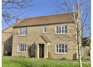 Thumbnail 4 bed detached house for sale in Meadow Way, Ely