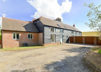 Thumbnail 4 bed detached house for sale in Tufton, Whitchurch, Hampshire