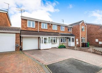 Thumbnail 3 bedroom semi-detached house for sale in Gurnard Close, Willenhall, West Midlands