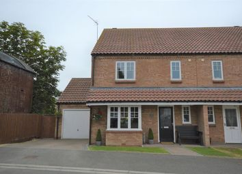Thumbnail 4 bed semi-detached house for sale in Byre Way, Burton Fleming, Driffield