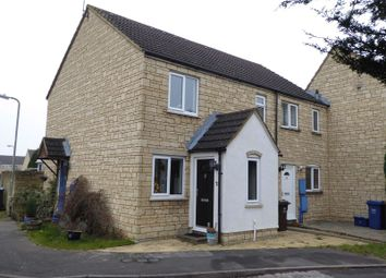 Thumbnail 1 bedroom end terrace house for sale in Avocet Way, Bicester