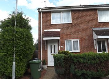Thumbnail 2 bed end terrace house to rent in Tennyson Way, Thetford