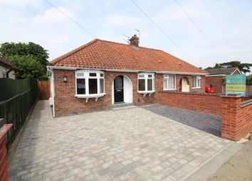 Thumbnail 3 bedroom semi-detached bungalow for sale in Coppice Avenue, Hellesdon, Norwich